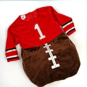 Football Halloween costume 12 to 18 months